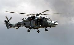 ZZ518 AgustaWestland Wildcat HMA.2, Royal Navy, RNAS Yeovilton, Somerset (Kev Slade Too) Tags: wildcat egdy agustawestland rnasyeovilton commandoassault zz518