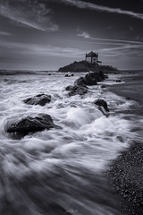 The Temple (paulosilva3) Tags: the temple bw seascape waterscape rocks sea water canon eos 6d manfrotto lowepro lee filters