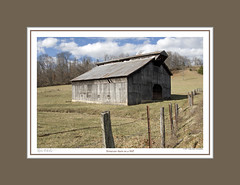 #159 TENNESSEE BARN ON A HILL (mdturn1) Tags: barns iowabarns oldbarns farming farm images photos history outbuildings farmshed cowshed shelter stable stall outhouse polebarn vintage classic heritage countryside historicbuildings oldfashioned nostalgic sentimentalfarm nostalgicmemories tradition rurallife rustic pastoral agricultural barnyard barnboard decor decorate decorating office home photoimages canvaspints galleryprints gallery