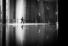 Plunge (tomabenz) Tags: street streetphotography streetview sonya7rm2 a7rm2 bnw bw blackandwhite black white dubai noiretblanc reflection reflet contrast framing