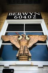(355/366) Berwyn Post Office Eagle (CarusoPhoto) Tags: berwyn il illinois 60402 eagle post office government sculpture art deco john caruso carusophoto photo day project 365 366 iphone 7 plus