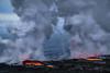 Forces Collide (Willie Huang Photo) Tags: lava oceanentry bigisland hawaii 61g kamokuna pele waterspout nature nationalpark volcano volcanonationalpark landscape scenic