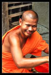Siem Reap K - Angkor wat monk