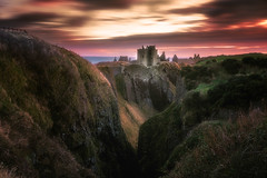 Through the Valley (devlin11) Tags: deserted castle coast clouds scotland scenery sunrise seaside seascape sea exposure eastcoast tranquil morning magic landscape nikon