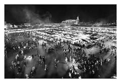 Fiesta en Jamaa el Fna (Marrakech-Marruecos) (RAMUBA) Tags: fiesta en jamaa el fna marrakechmarruecos marrakech marruecos marroc ambiente nocturna environment nikon d750 night