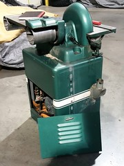 Powermatic Houdaille Model 30 disc sander (simonov) Tags: powermatic houdaille disc sander model30 vintage machinery woodworking tools