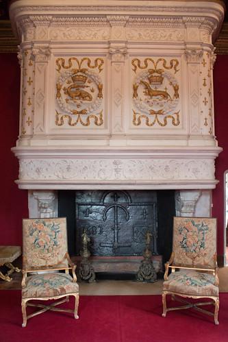 Salon Louis XIV au Château de Chenonceau