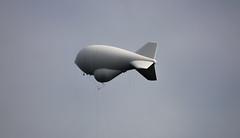 Aerostat (*Millie* (Catching up slowly)) Tags: lajaspr aerostat helium surveillance radar system tethered cloudy aerospace balloon canon rebelt6i t6i canoneos efs55250mmf456isstm minimalism