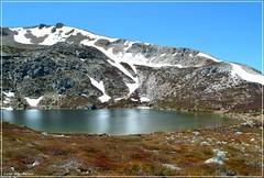Lago Ausente - (León) (Luisa Gila Merino) Tags: glaciar lago león nieve montaña paisaje