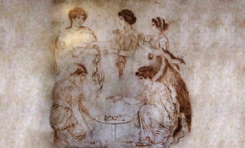 "Petteia - Ludus Latrunculorum  / Iconografía de las civilizaciones helenolatinas • <a style=""font-size:0.8em;"" href=""http://www.flickr.com/photos/30735181@N00/31710139043/"" target=""_blank"">View on Flickr</a>"