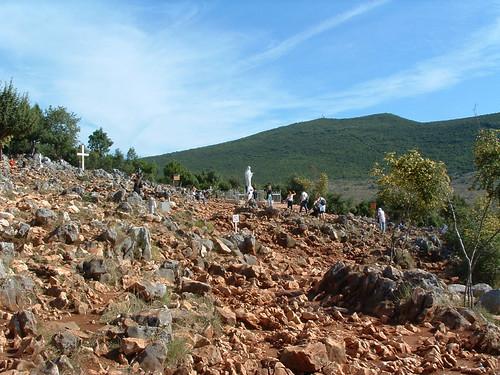 Međugorje, Jelenés hegye