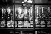 Still life - bottles (toborophoto) Tags: coventgarden streetart window glass monochrome blackandwhite stillife streetphotography longexposure