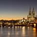 Dusk in Köln