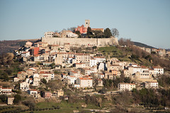 Motovun walls (sasamsa) Tags: landscape medieval old landmark istria croatia hill picturesque building small famous town motovun tourism nature travel tower house history architecture destination istra village istrian wall