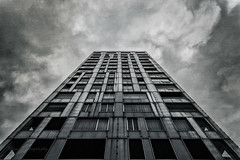 Antwerp - Higher and Higher.. (Mini-UE || Mini-Photography) Tags: antwerpen antwerp architecture architectuur amazing art addicted photography photograph mini miniphotography michel nicolaes ngc building high clouds strong fotografie lovely lines depth