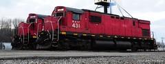 Evening Alcos (arcticrail) Tags: western new york wnyp pennsylvania alco century olean c430 trains locomotive diesel