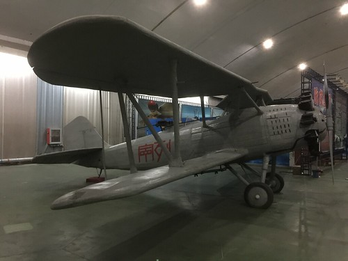 China Vought V-65C1 Corsair replica number 1, China Aviation Museum, Chinese, Xiaotangshan 30th October 2016