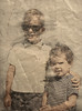 RickDeb.jpg (mjg15) Tags: melsphotos pencilsketch portrait greenfamily sketch texture oldfamilyphotos debbiegreen rickgreen