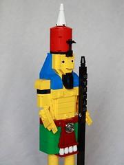Saulys (Johnny  Thunder) Tags: lego egyptian statue