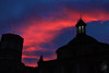 Valencia's sky (k.LEO_art) Tags: valencia pink red blue miguelete sky pr pretty beautiful normal sunset photographer