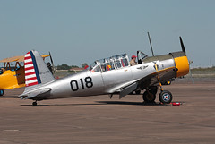 N27003 Consolidated Vultee BT-13A (corkspotter / Paul Daly) Tags: 1942 consolidated vultee bt13a cn 5017 n27003 ellington kefd efd wings over houston 2016 commemorative air force