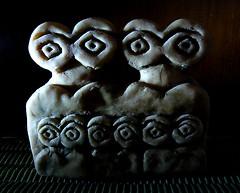 Eye idols (Hornbeam Arts) Tags: sumer mesopotamia