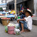 One of the street markets in Nakhon Ratchasima