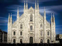 The Duomo (Bill Thoo) Tags: duomo milan lombardy italy square cathedral visitors tourism sony a7r sonyflickraward ngc platinumheartaward