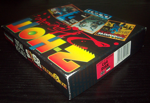 07 Compilations, Ocean - 2 Hot 2 Handle (1991), Disk box corner