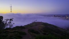 Ssshhh... (JBernadez) Tags: sanfrancisco california sunset fog evening twilight bluehour tamron canon5dmkii