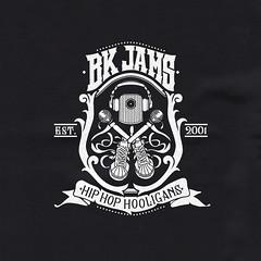 Logo para BK JAMS, liga de Hip Hop.
