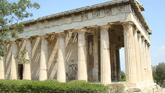 Ancient Agora Hephaisteion (Jae at Wits End) Tags: building monument architecture ruins europe shadows athens greece