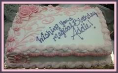 Rose cake by Cape Fear, NC, www.birthdaycakes4free.com
