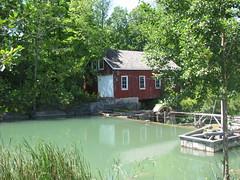Sawmill at Decew Falls (mineral2150) Tags: falls sawmill decew