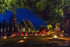 wat_pantao_26r (khunkay's gallery) Tags: beautiful festival lights bokeh เชียงใหม่ บวช พระ yeepeng เทียน โบเก้ เณร จุดเทียน สวดมนต์ วัดพันเตา ระเบิดซูม นั่งสมาธิ ผางประทีป วันพระ พุทธบูชา