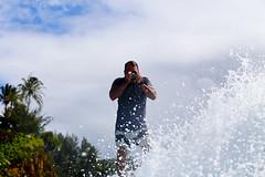 Surfing & Shooting (aloha_bigmike) Tags: hawaii surfing shooting honolii alohabigmike nikonosface
