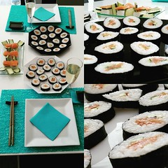 "Sunday: homemade sushi time! #sushi #sushitime #homemade • <a style=""font-size:0.8em;"" href=""http://www.flickr.com/photos/76567196@N07/19604487433/"" target=""_blank"">View on Flickr</a>"