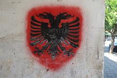 The double-headed eagle of Albania