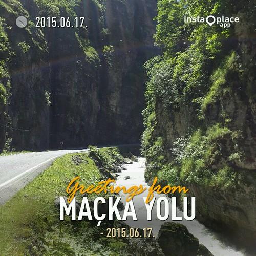 Way to Sumela Monastery