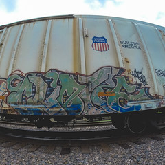 CLOZE (Electric Funeral) Tags: railroad art digital train photography graffiti midwest nebraska paint railway iowa fremont kansascity railcar missouri lincoln kansas traincar omaha graff aerosol freight reefer nme desmoines cloze freighttrain rollingstock councilbluffs armn flv benched gopro benching upsk freighttraingraffiti fr8train fr8heaven goprohero3plus
