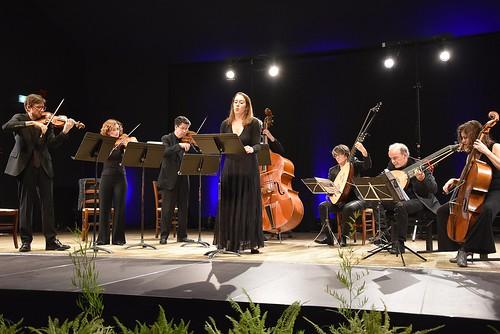 """Concert """"Ardeur et Dévotion"""" ( Vivaldi, Caldara…) avec Les Solistes du Concert Spirituel à la Maison des Arts de Laon."""