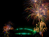 The Bridge is surrounded (markdmurray) Tags: australia gardenisland sydney newyearseve2017 red green blue harbour