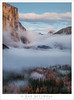 The Valley, Dusk Fog and Clouds (G Dan Mitchell) Tags: yosemite valley national park mountains sierra nevada elcapitan halfdome clouds fog fill forest nature landscape fall autumn season california