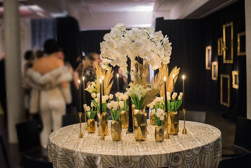 """Great Gatsby Centerpiece • <a style=""""font-size:0.8em;"""" href=""""http://www.flickr.com/photos/81396050@N06/31215168224/"""" target=""""_blank"""">View on Flickr</a>"""