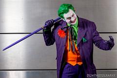 The Joker (dgwphotography) Tags: nycc cosplay nycc2016 newyorkcomiccon 70200mmf28gvrii nikond600 nikoncls thejoker joker gotham batman