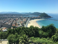 San Sebastian, seen from Mirador de Ulia!