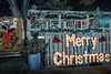 Merry Christmas Everyone (Jims_photos) Tags: emilyanntheatreandgarden wimberleytexas texas outdoor outside oldcar adobelightroom adobephotoshop jimallen lightroom nopeople nightphotos nightshot nightimages memories