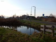 spoorwegovergang Laag Nieuwkoopsebuurtweg, Laagnieuwkoop (bcbvisser13) Tags: spoorwegovergang boerderij rails bovenleiding spoorbomen reflectie laagnieuwkoopsebuurtweg haarzuilens gemutrecht laagnieuwkoop provutrecht nederland eu