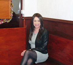 Chinatown (Starrynowhere) Tags: crosdresser crossdressing crossdressed transvestite transvestism tranny transgender tgirl dressedasawoman wearingwomensclothes dressedasagirl public