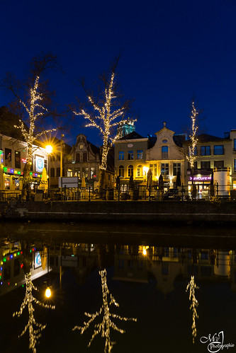 Night life in Mechelen